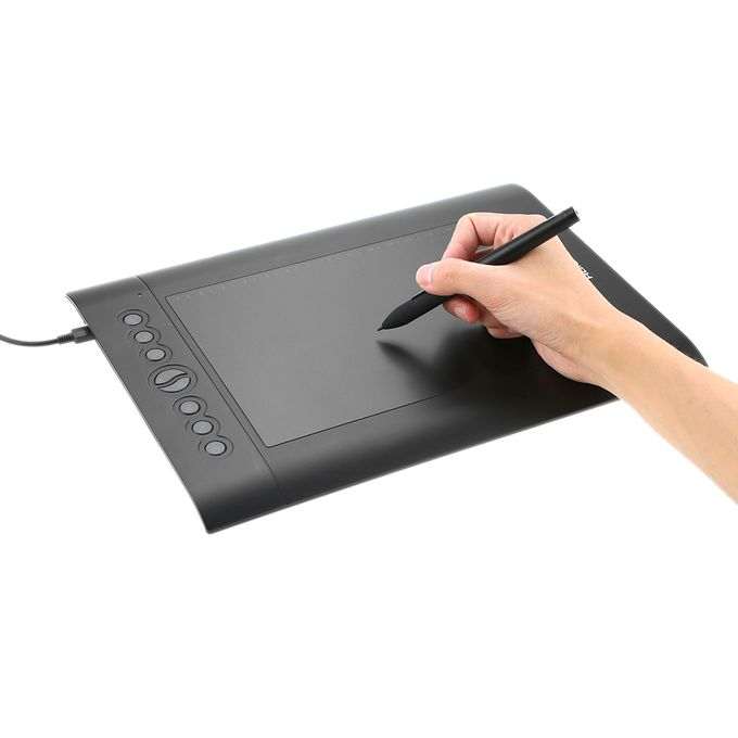 Huion Usb Graphics Drawing Tablet Upgraded H610 Pro V2 Pad