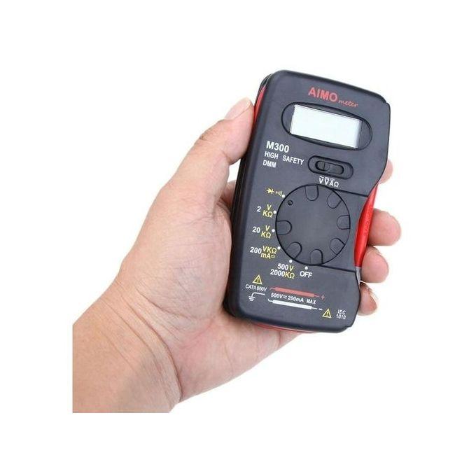 Aimo M300 Mini Digital Lcd Multimeter Dmm Meter Ammeter Ohmmeter Voltmeter Multi Tester Multimetro Comprobadores Multimetre