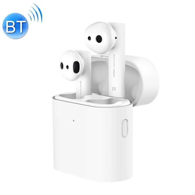product_image_name-Universal-Xiaomi Air 2 TWS Bluetooth 5.0 Infrared Optical Sensor Wireless Bluetooth Earphone with Charging Box, Support Voiceistant & HD Call & APP Custom Settings(White)-1