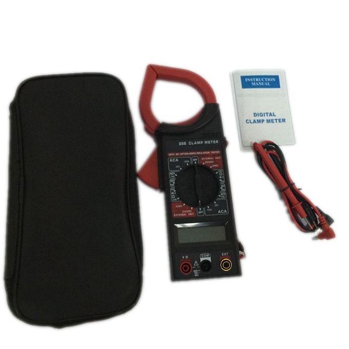 Digital Clamp Meter Dt266 Pince Ampèremétrique Multimètre Numérique Avec écran Lcd