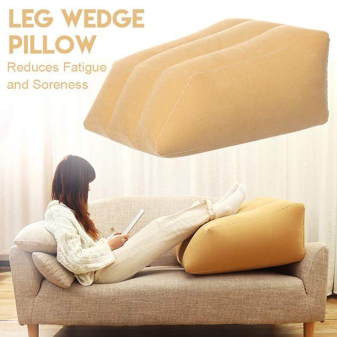product_image_name-Generic-Coussin gonflable portatif d'oreiller de soutien,rehausseur repose-pied de jambe-2