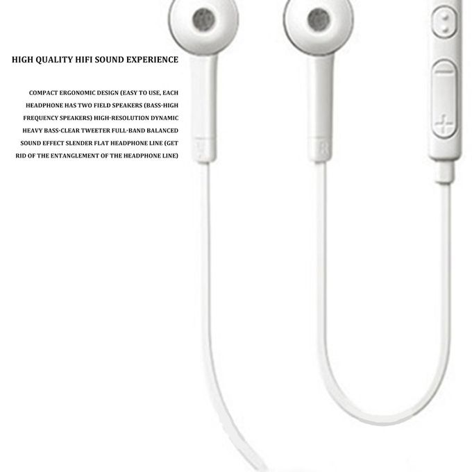 Or For I9300 Mobile Phone Headphones Wired With Wheat Tuning J5jb In Ear White