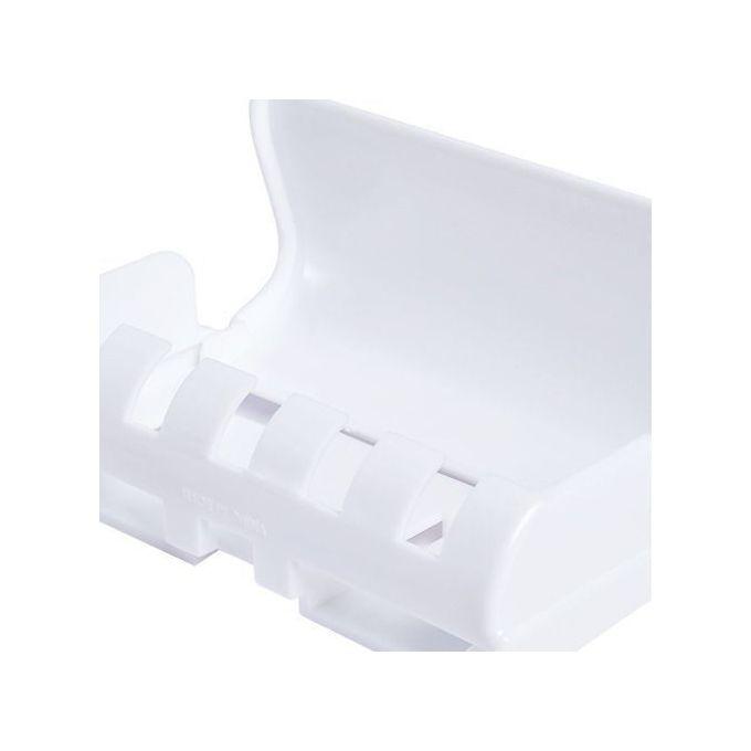 Distributeur Automatique De Dentifrice 5 Brosse à Dents Stand De Support Mural Salle De Bains Fournitures Articles De Toilette Durable Porte Brosse