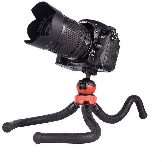 Trepied Flexible Universel Pour Smartphonecameragoproappareil Photocamescope Rotation 360 Idéal Pour Voyage Sport Vidéo Youtube