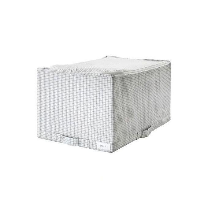 Ikea Boîte de rangement pour vetement , blanc/gris, 34x51x28 cm à prix pas cher   Jumia Maroc