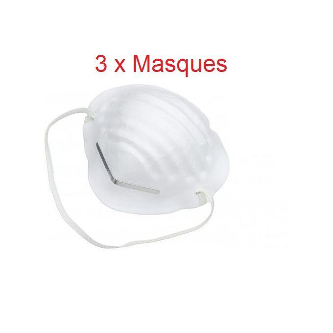 lot masque protection respiratoire