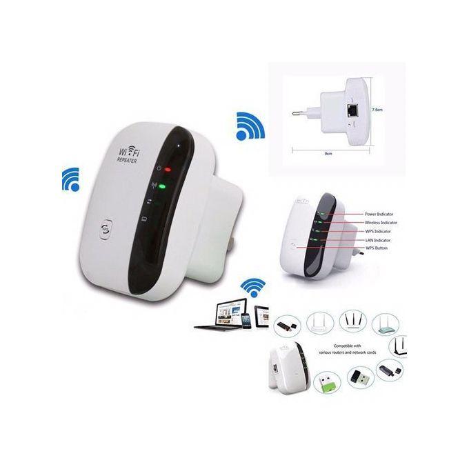 Amplificateur Wifi Sans Fil Répéteur Wifi Double Bande Wifi Booster 300mbps