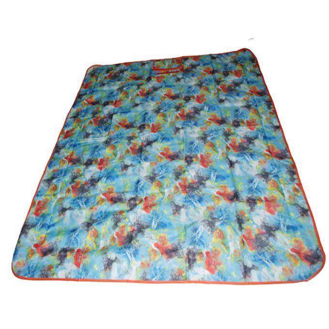 tapis de pique-nique portable pour ext/érieur Lanho Couverture de pique-nique en tissu Oxford 600D imperm/éable et r/ésistant /à lhumidit/é camping et plage 150*150cm Barres arc-en-ciel
