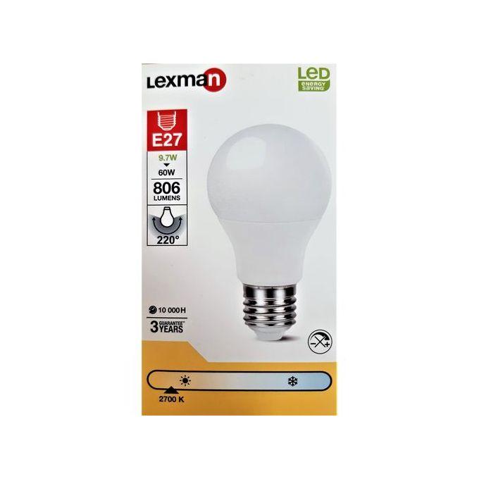 Ampoule Led E27 à Vis 97w équiv 60w 2700 K Led économie Dénergie