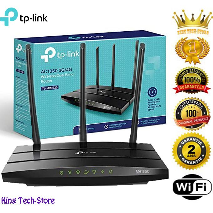 Meilleur Point Daccès De Tp Link Tl Mr3620 Ac1350 3g4g Wireless Dual Band Router 245ghz