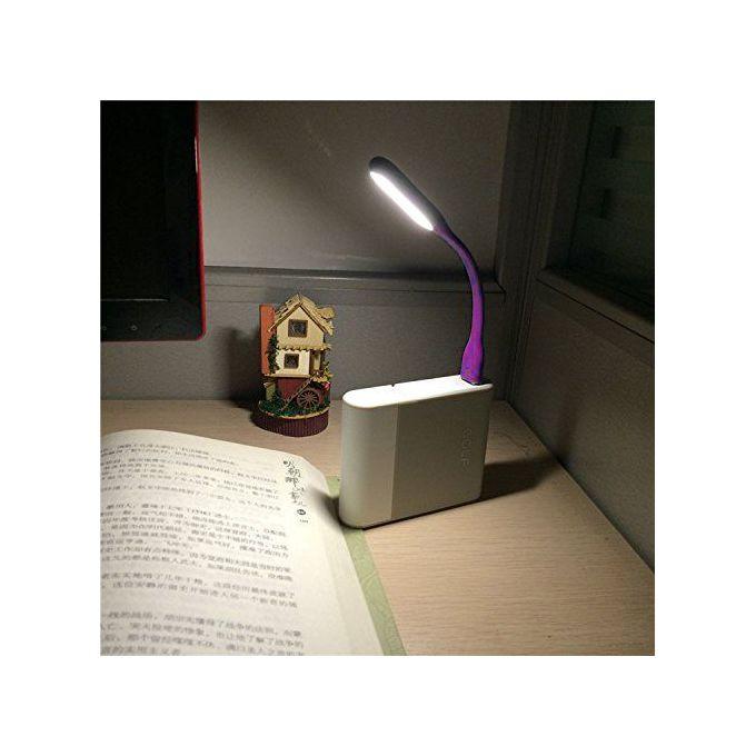 Mini Lampe Led Usb Pour Clavier Dordinateur Portable Lampe De Lecture Flexible Mauve