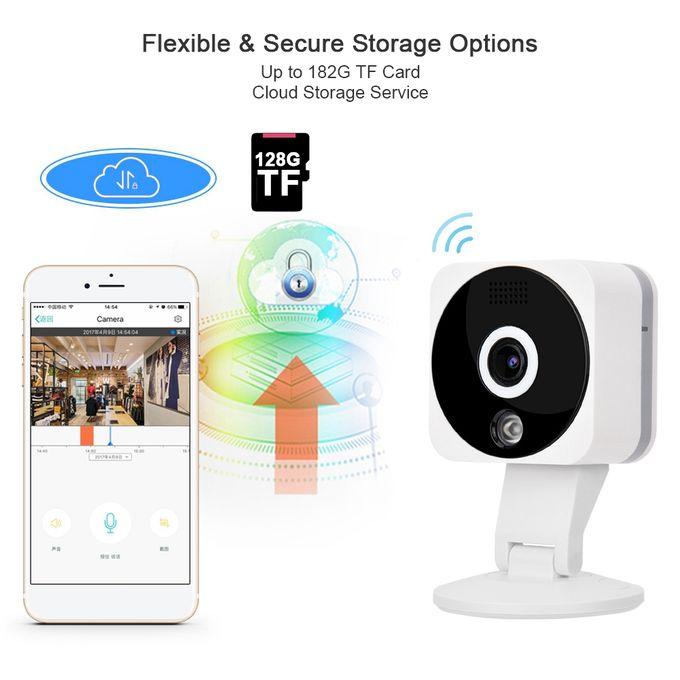 2mp 1080p Wifi Ip Camera Home Security Baby Monitor Ir Night