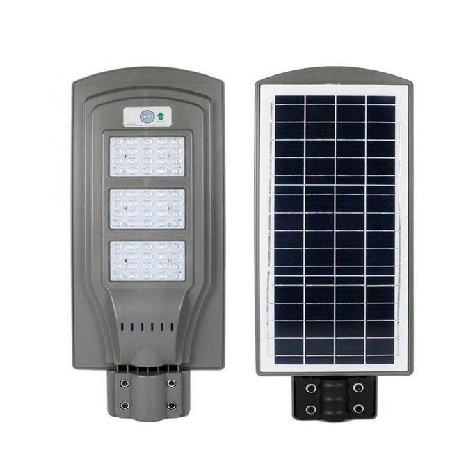 product_image_name-Generic-Lampadaire Solaire 60W avec panneau solaire intégré et détecteur de mouvement-1