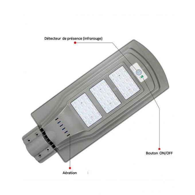 product_image_name-Generic-Lampadaire Solaire 60W avec panneau solaire intégré et détecteur de mouvement-2