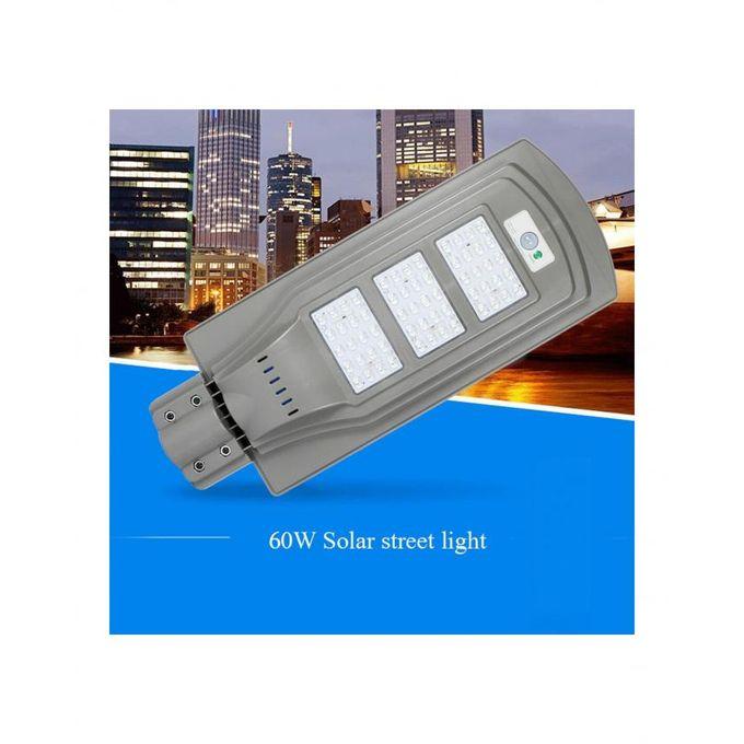 product_image_name-Generic-Lampadaire Solaire 60W avec panneau solaire intégré et détecteur de mouvement-6