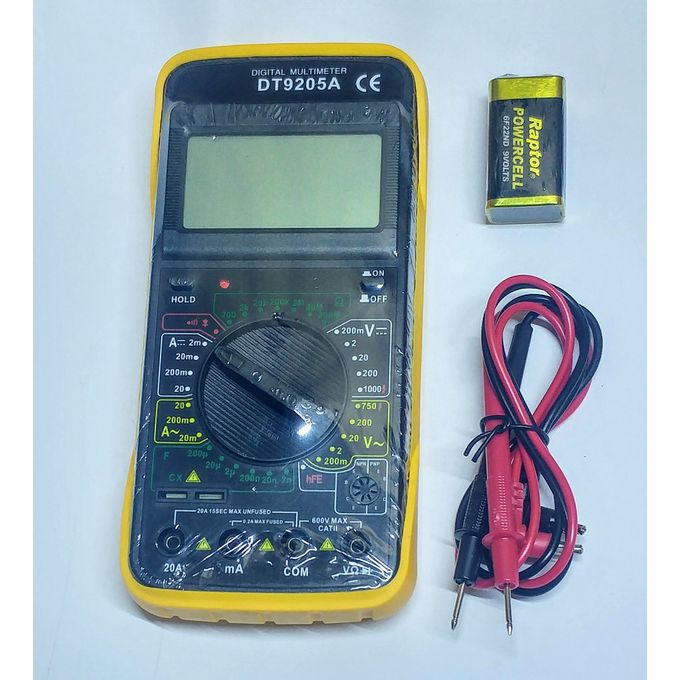 Multimètre Digital Dt9205a