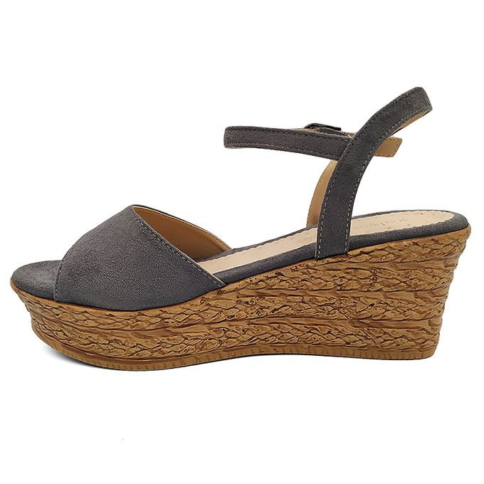 valtinellis chaussures sandales talons compens s femme elegante demi saison gris prix pas