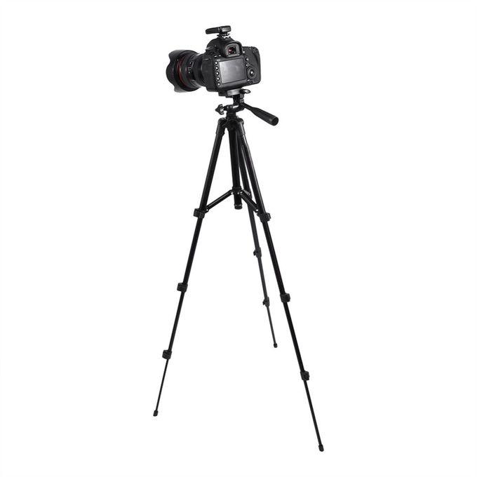 Dslr Caméra Trépied Support Photographie Photo Vidéo En Aluminium Caméra Trépied Support Caméra Trépied Pour Téléphonegopro Avec Sacblack