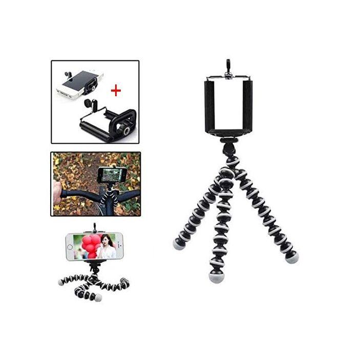 Trépied Z 02 Robuste Universel Support De Caméra Flexible Portable Peut Plier Le Trépied Mini Octopus Pour Héros Caméra Hd Appareil Photo