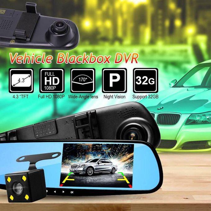 Generic Black Box Camera De Surveillance De Voiture Dvr Full Hd