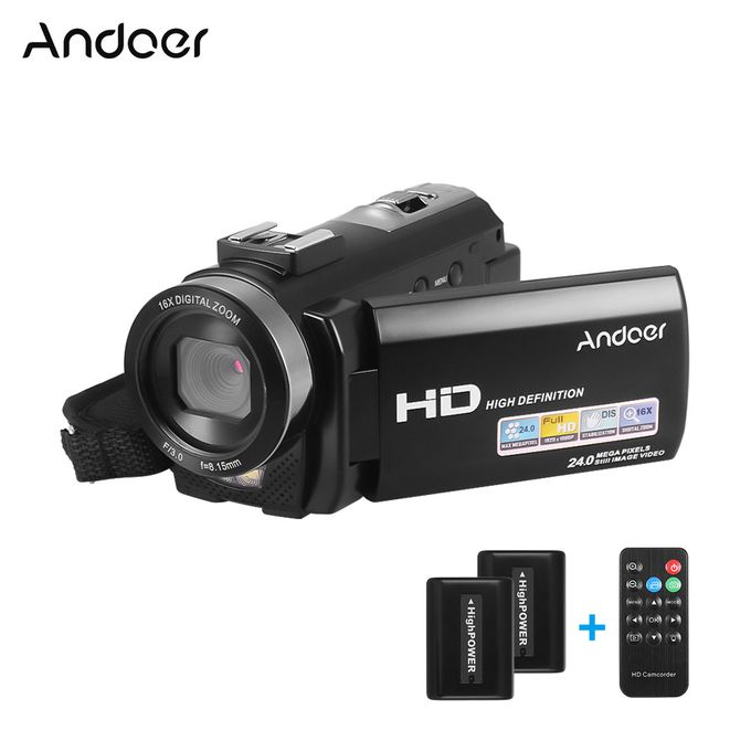 Andoer Andoer Hdv 201lm 1080p Fhd Digital Video Camera Camcorder A