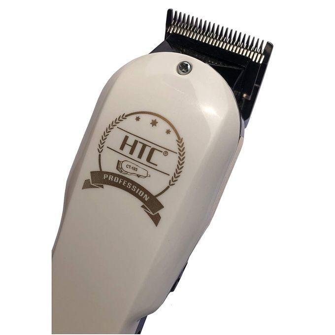 product_image_name-Htc-Tondeuse à Cheveux CT:103 Professionnelle Lames en Acier Pour Barbe et Cheveux-2