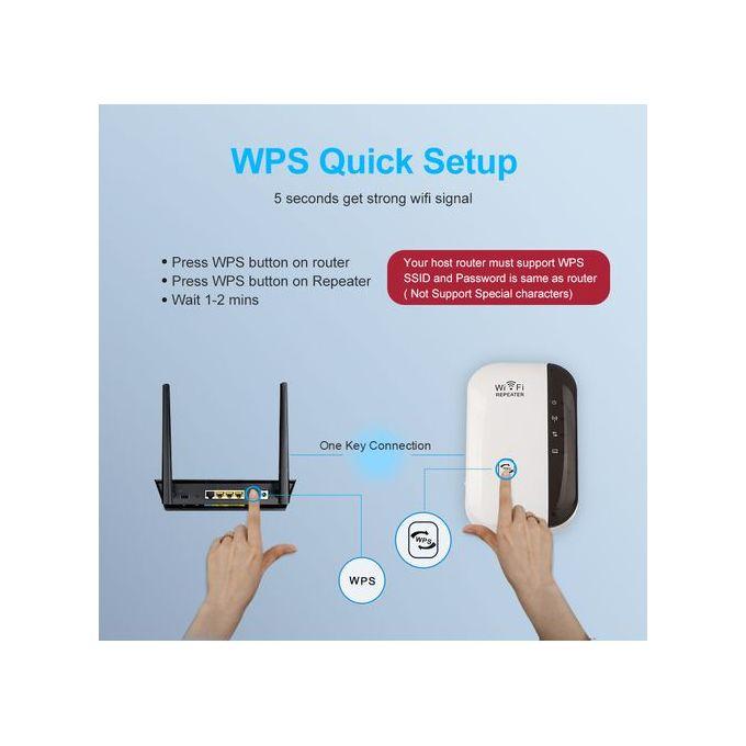 Rpteur Wifi Sans Fil Amplificateur De Signal Wi Fi