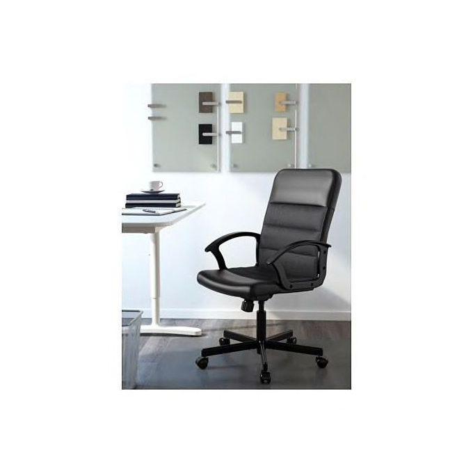 Ikea Chaise De Bureau Siege Pivotant Bomstad Noir A Prix Pas Cher Jumia Maroc