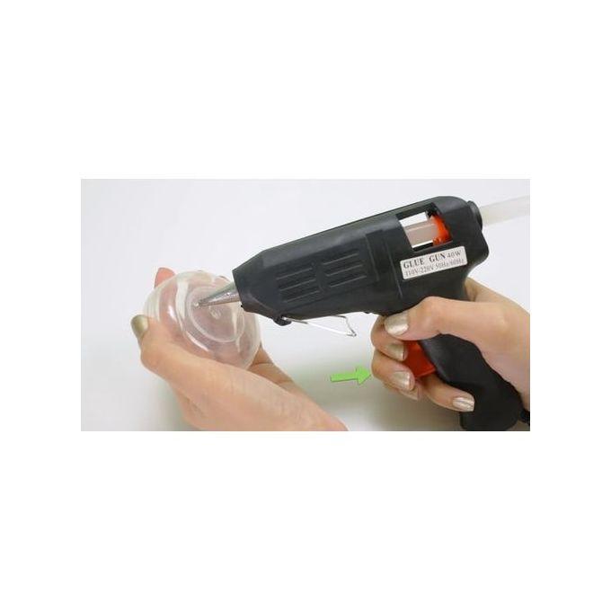 Pistolet à Colle Professionnel Chaude Fx Tools Gluegun 40 Watt 2 Batons De Colle Pour Réparation Outil