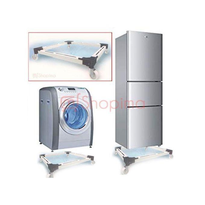 Support Roulant Extensible En Alluminum Pour Machine à Laver Et Congélateur