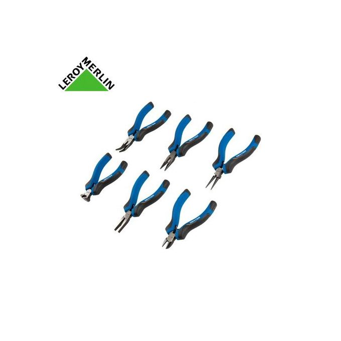 Lot De 6 Mini Pinces Bleugris Garantie 5 Ans
