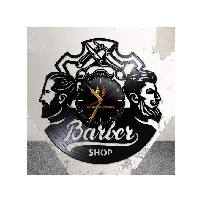 Horloge Murale Salon De Coiffure Barber Shop Clock