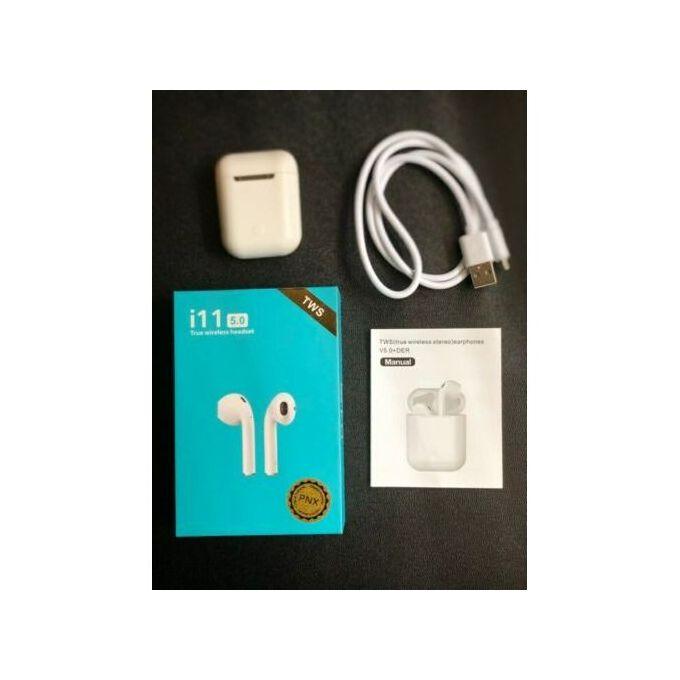 Tws I11 écouteurs Sans Fil Bluetooth V50 Pour Ios Et Android Original