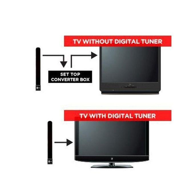 Clé Tv Claire Hdtv Antenne Intérieure Numérique Full Hd 1080p