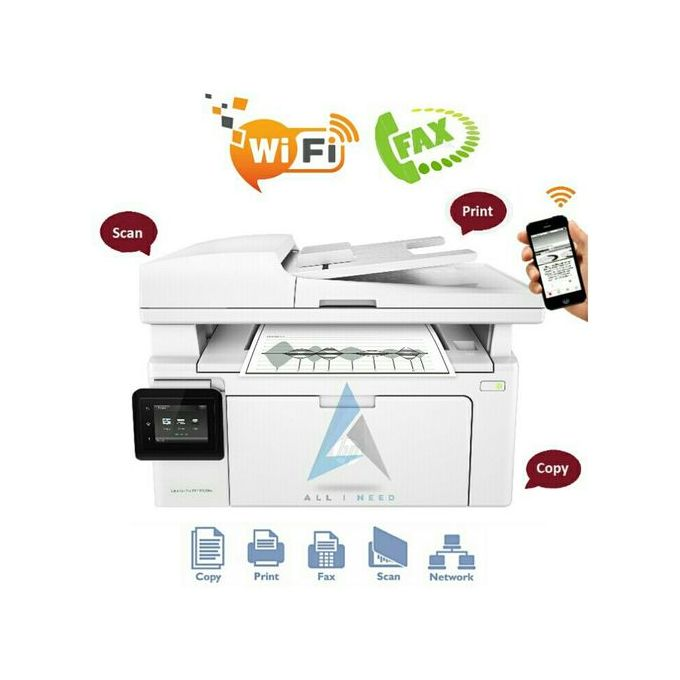 Imprimante Laserjet M130fw Multifonction Wi Fi Fax