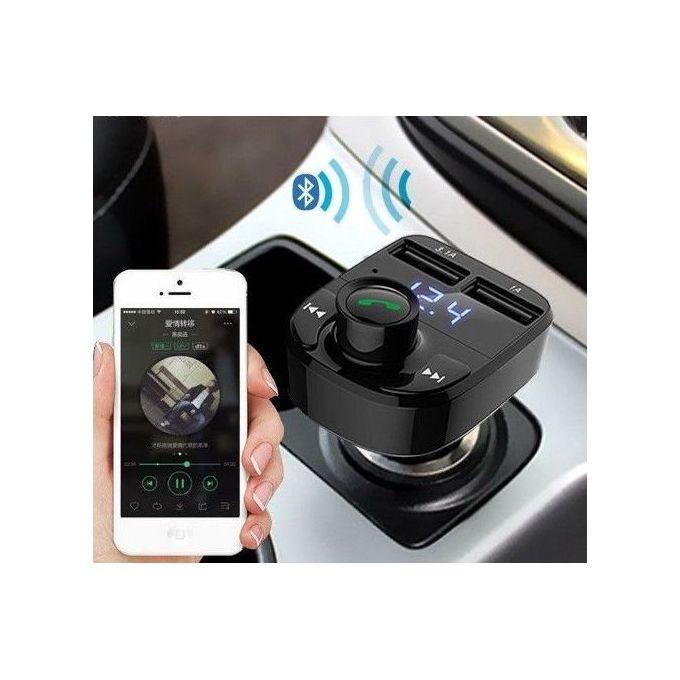 Bluetooth Voiture Transmetteur Fm Bluetooth Adaptateur Autoradio Kit De Voiture 31a Chargement