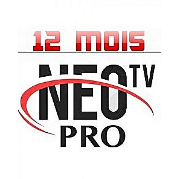 CODE IPTV NEOTV PRO - IPTV ABONNEMENT 12 MOIS OFFICIEL -