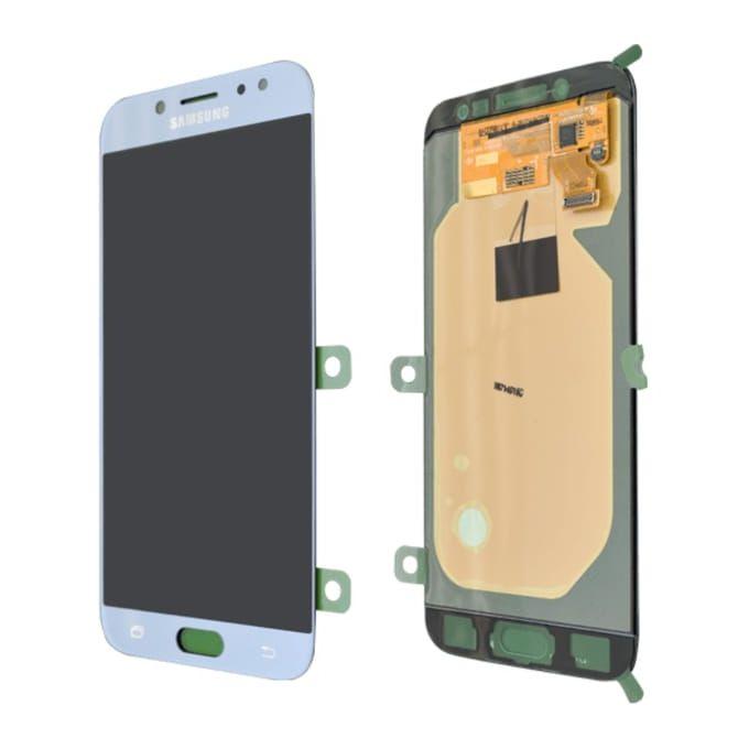 Samsung Afficheur Ecran Lcd Samsung J7 Pro Blanc A Prix Pas