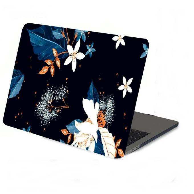 PC017 Autocollant Stickers PC Fleur Graphique Ref