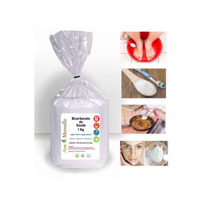 Bicarbonate De Soude 1kg Qualité Cosmétique Bicarbonate De Sodium