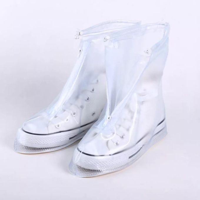 Couvre Chaussures Imperméables En Silicone En Plein Air Couvre Chaussures Réutilisables Antipluie