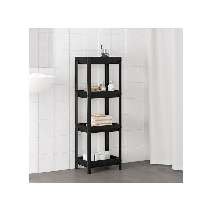 Ikea Etagere Modulable Noire Pour Rangement Et Organisateur Salle De Bain Maison Ikea A Prix Pas Cher Jumia Maroc