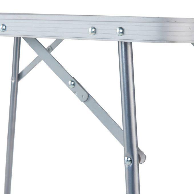 TABLE( gris-noir)DE CAMPING PLIANTE POUR 2 À 4 PERSONNES