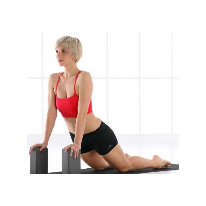 Decathlon Brique Yoga Mousse Gris Fonce 22 5 Cm X 7 5 Cm A Prix Pas Cher Jumia Maroc