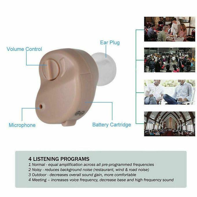 Invisible Mini Appareil Auditif Amplificateur Auditif Pour Surdité écouteurs Top Des Ventes Aide Auditive