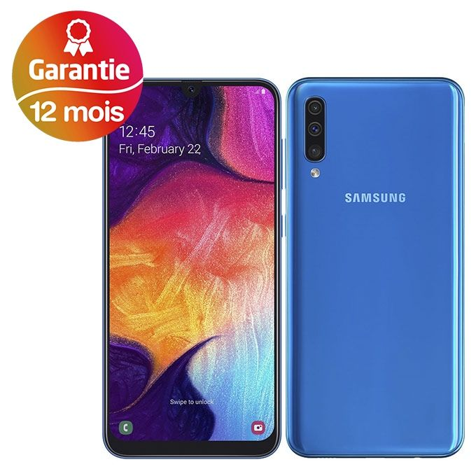 Samsung Galaxy A50 6 4 4g 4go 128go Bleu A Prix Pas Cher