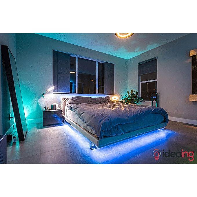 Décoration Ruban Led Lumineuse Télécommande Pour Personnaliser Leclairage De Votre Chambre
