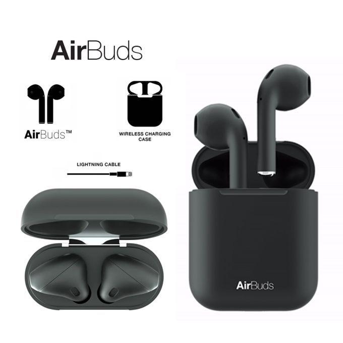Smart Écouteurs Airbuds Sans Fil Bluetooth Contrôle Tactile -Noir ...