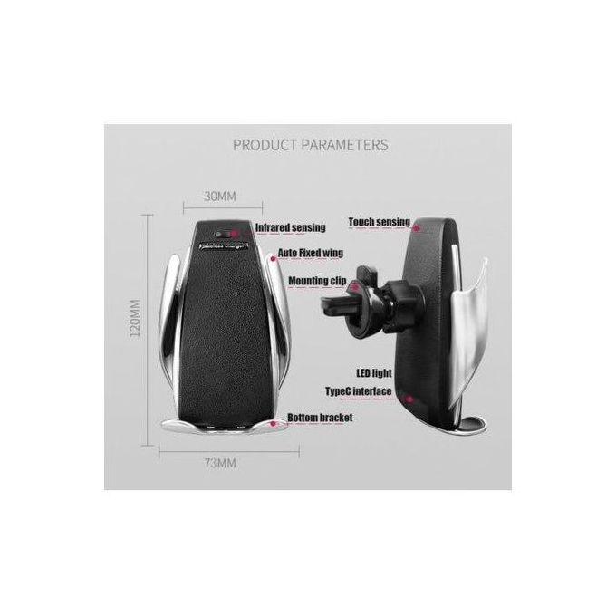 product_image_name-WIRELESS CHARGER-حامل الهاتف للسيارة مع شاحن لاسلكي سريع و خاصية الإستشعار-4