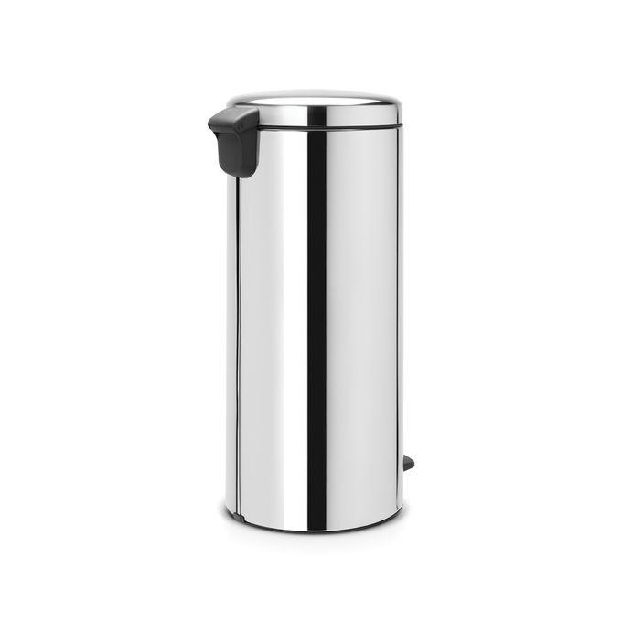 Brabantia Poubelle A Pedale Newicon 30 Litres Brilliant Steel A